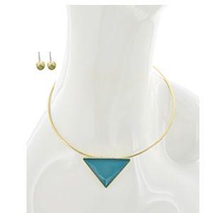 Jewelry - Choker Style Necklace & Earring Set